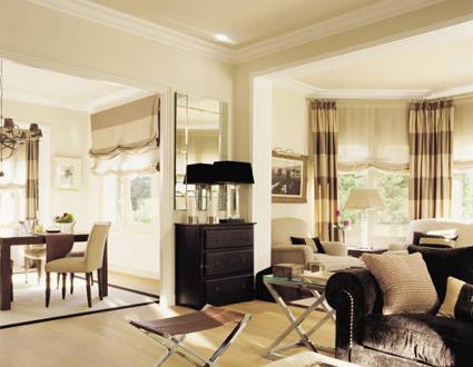Cortinas para cada ventana tejidos el mundo for Como hacer cortinas para salon