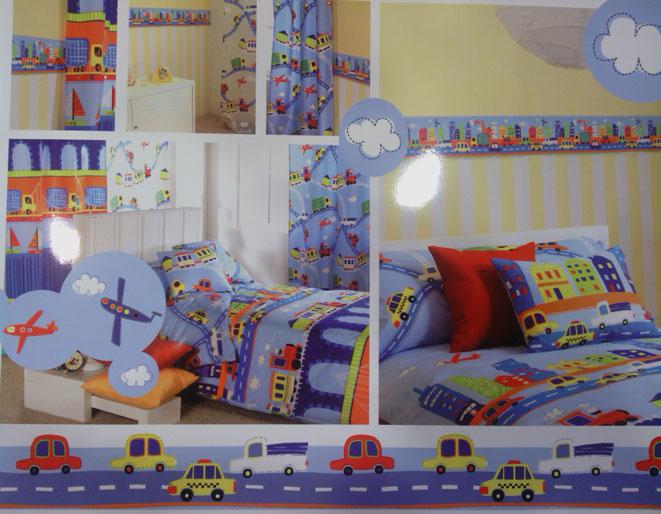 Decorar habitaciones infantiles tejidos el mundo for Cortinas infantiles para ninos