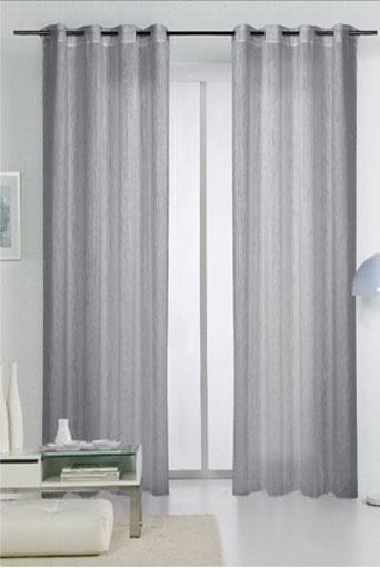 Lavado de cortinas tejidos el mundo for Cortinas grises