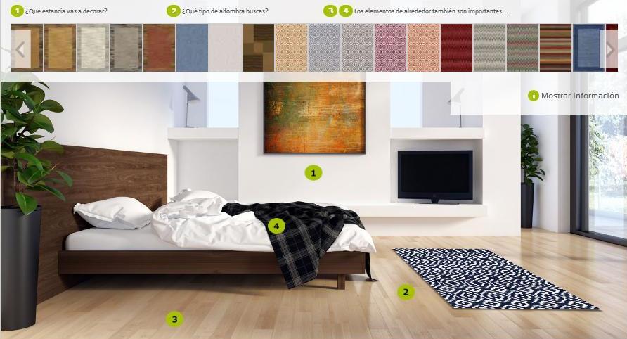 Simulador de alfombras - Simulador de salones ...