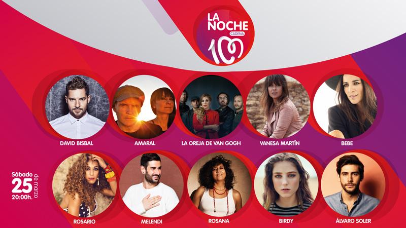 La Noche Cadena 100 2017